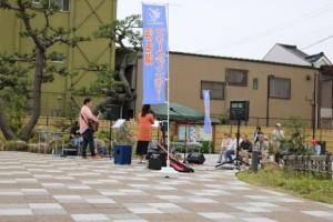 舘山寺門前広場ライブ