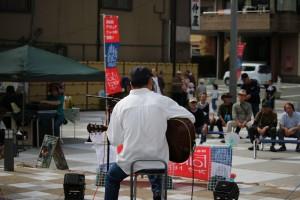 舘山寺・門前広場 de ライブ